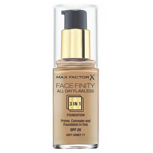 Face Finity All Day Flawless 3-in-1 Foundation soft honey 77