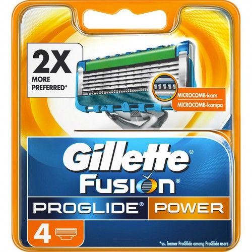 Fusion Proglide Power 4-Pack